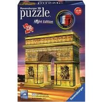 3D Puzzle: Arc de Triomphe Night Edition (216)