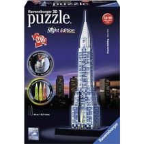 3D Puzzle: Chrysler Building Night Edition (216)