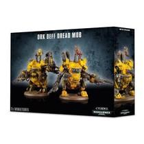 Warhammer 40,000 Xenos Orks: Deff Dread Mob