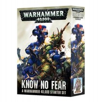 Warhammer 40,000 8th Edition Starter Set: Know No Fear