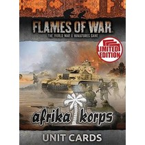 Mid War Afrika Korps Unit Cards