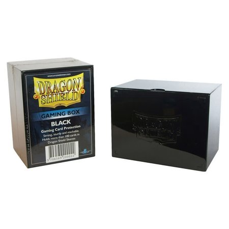 Arcane Tinman Dragon Shield Deckbox Black