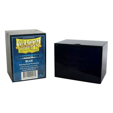 Arcane Tinman Dragon Shield Deckbox Blue