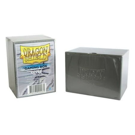 Arcane Tinman Dragon Shield Deckbox Silver