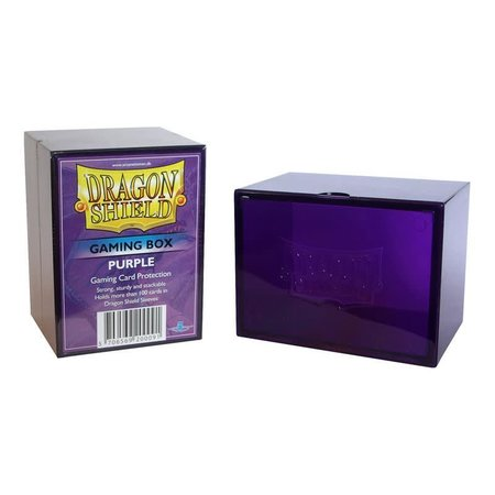 Arcane Tinman Dragon Shield Deckbox Purple