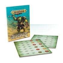 Age of Sigmar 2nd Edition Warscroll Cards Destruction: Ironjawz