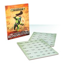 Age of Sigmar 2nd Edition Warscroll Cards Destruction: Bonesplitterz