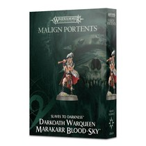 Slaves to Darkness: Darkoath Warqueen Marakarr Blood-sky (Malign Portents)