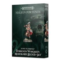 Slaves to Darkness: Darkoath Warqueen Marakarr Blood-sky (Malign Portents)