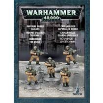 Warhammer 40,000 Imperium Astra Militarum: Cadians (x5)