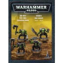 Warhammer 40,000 Xenos Orks: Ork Boyz (4 Models)