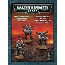 Warhammer 40,000 Chaos Heretic Astartes Chaos Space Marines: Tactical Squad (3 Models)