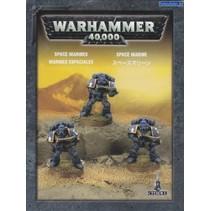 Warhammer 40,000 Imperium Adeptus Astartes Space Marines: Tactical Squad (3 Models)