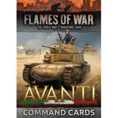 Battlefront FOW 4.0: Avanti Command Cards
