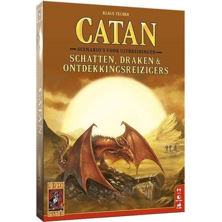 999-Games Kolonisten van Catan: Schatten, Draken & Ontdekkingsreizigers