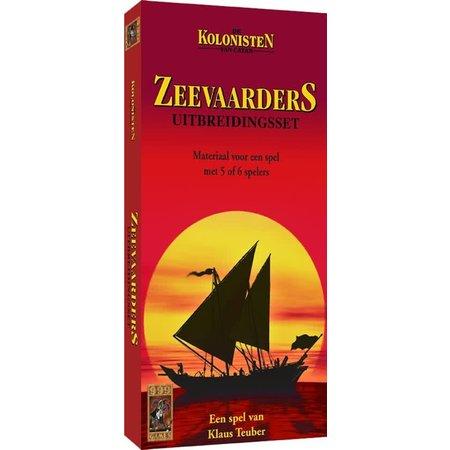 999-Games Kolonisten van Catan: Zeevaarders 5/6 Uitbreiding Oude editie