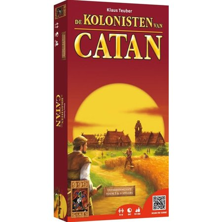 999-Games Kolonisten van Catan 6e Editie: 5-6 Spelers