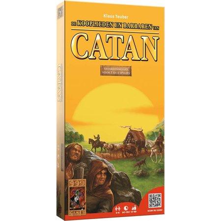 999-Games Kolonisten van Catan: Kooplieden en Barbaren 5/6 uitbreiding Nieuwe Editie
