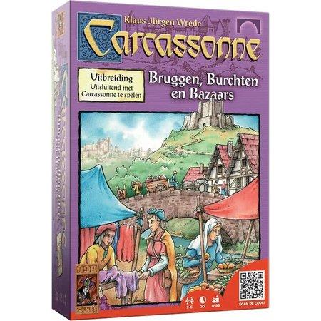 999-Games Carcassonne Bruggen Burchten Bazaars