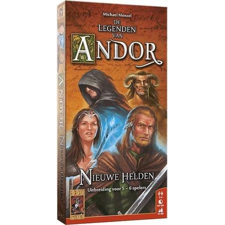 999-Games De Legenden van Andor: Nieuwe Helden (5-6 uitbr.)