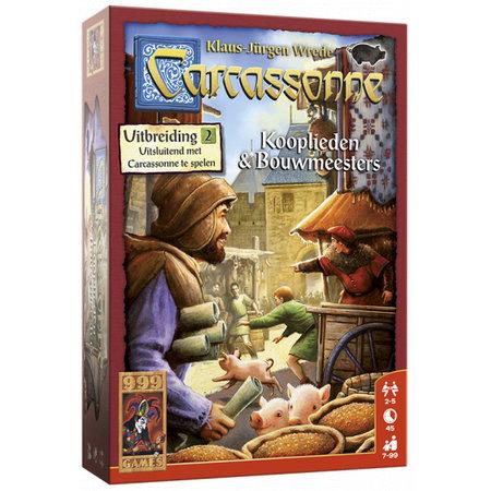 999-Games Carcassonne Kooplieden & Bouwmeesters Nieuw