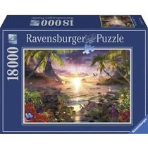 Paradijselijke zonsondergang (18000)