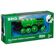 Brio: Big Green Action Locomotive