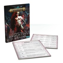 Age of Sigmar 2nd Edition Warscroll Cards Order: Daughters of Khaine