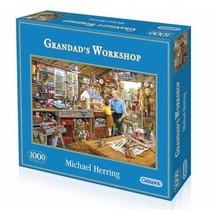 Gibsons: Grandad`s Workshop puzzel (1000)