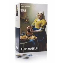 Rijksmuseum: Vermeer Het Melkmeisje (1000)