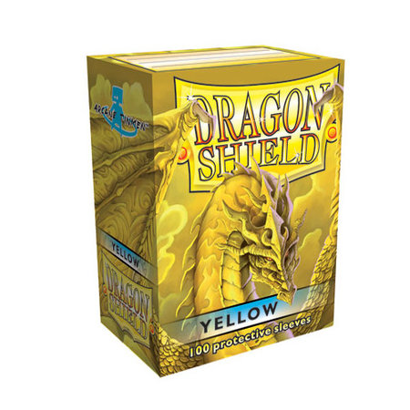 Arcane Tinman Dragon Shield Sleeves: Yellow