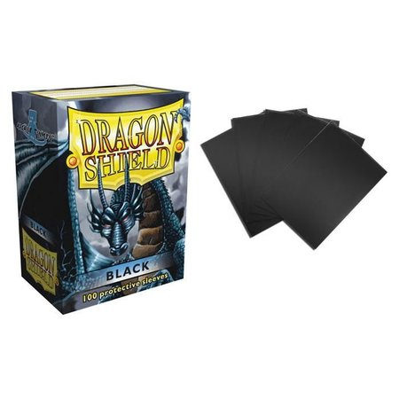 Arcane Tinman Dragon Shield sleeves black 100