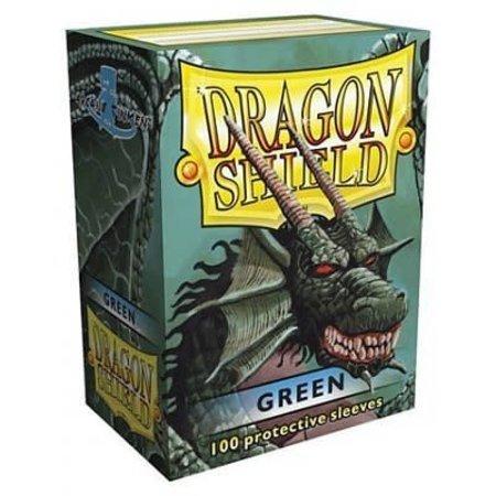 Arcane Tinman Dragon Shield Sleeves Green 100