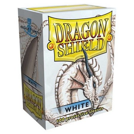 Arcane Tinman Dragon Shield Sleeves White 100