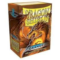 Dragon Shield Sleeves Orange 100