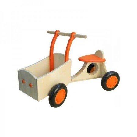Van Dijk Toys b.v. Bakfiets Oranje