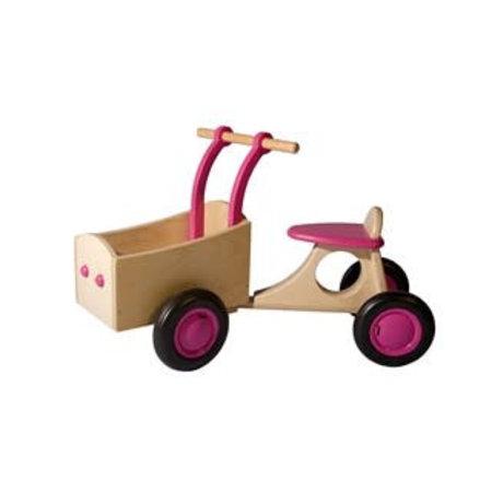 Van Dijk Toys b.v. Bakfiets Roze