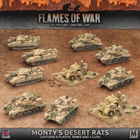 Battlefront FOW 4.0: Monty's Desert Rats Starter Army