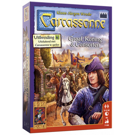 999-Games Carcassonne Graaf, Koning en Consorten Nieuw