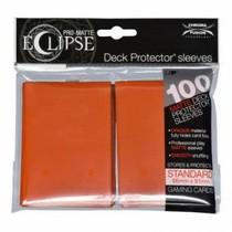 Sleeves Pro-Matte Eclipse - Pumpkin Orange (100)