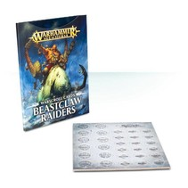 Age of Sigmar Warscroll Cards: Beastclaw Raiders