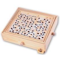 Labyrinth Hout groot 32x28x8