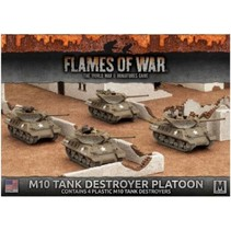 M10 Tank Destroyer Platoon (plastic)