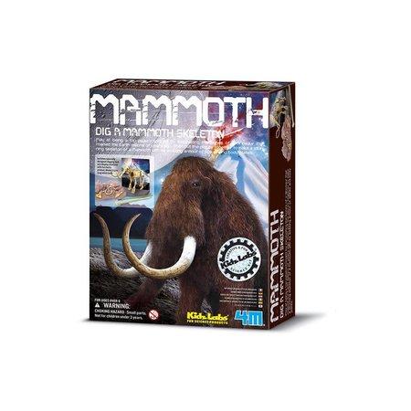 4M Mammoet (Graaf je dinosaurus op) (Mammoth)