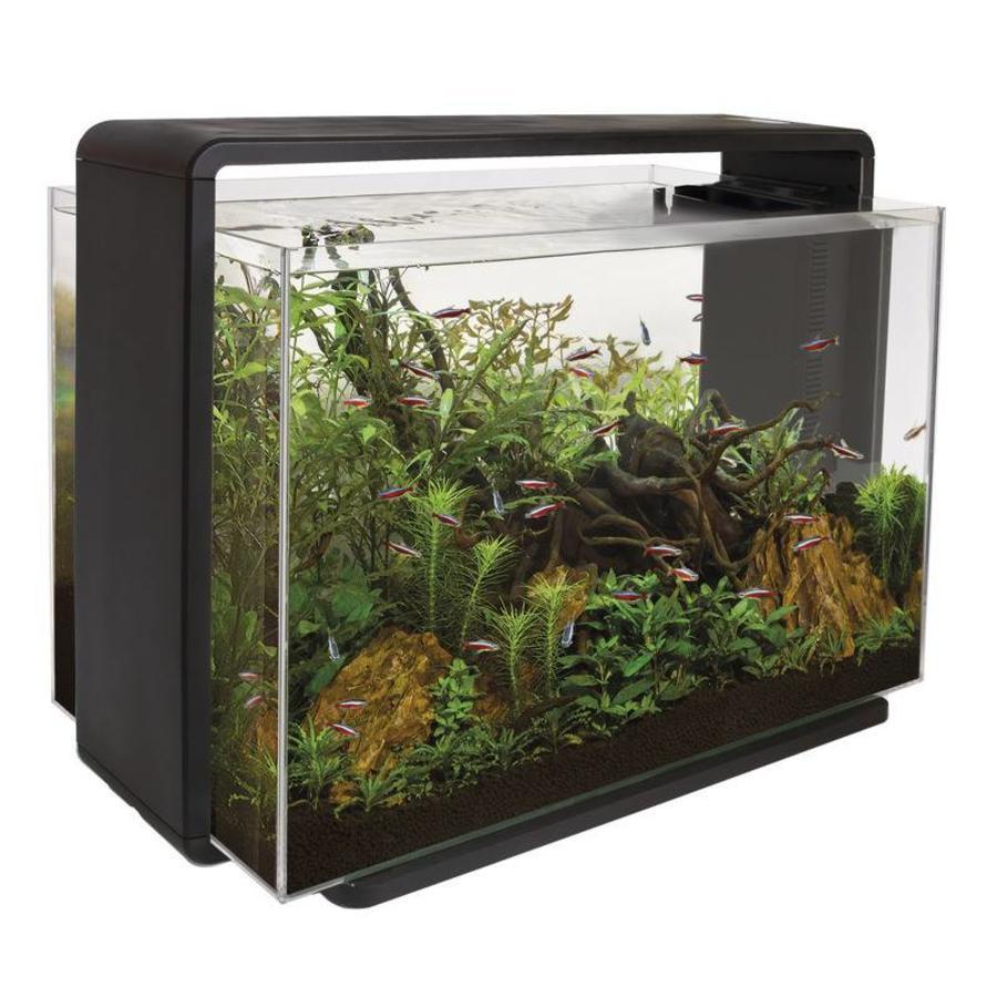 Aquacompleet | Superfish home 80 | zwart | LED - Aquacompleet