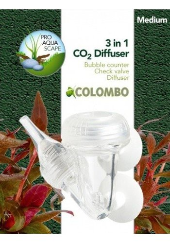 Colombo CO2 3 in 1 diffusor medium