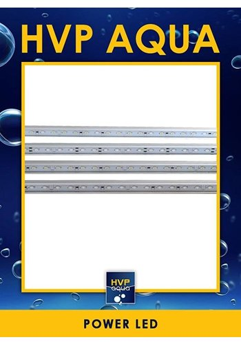 HVP Aqua 76 CM wit Coral LED lamp 24W 1 watt led