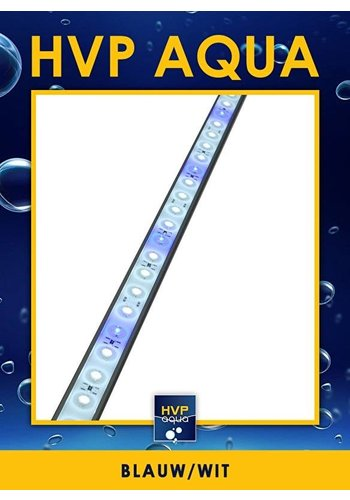 HVP Aqua 116 CM blauw wit Coral LED lamp 36W 1 watt led