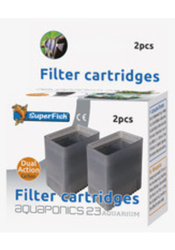 Aquaponics 23 cartridge 2 stuks