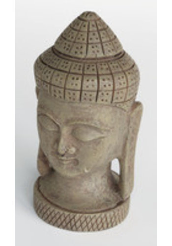 Zen deco buddha face large